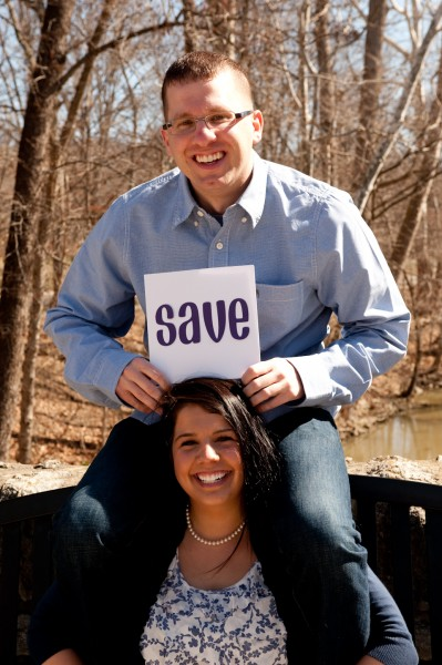 Save the Date Engagement Photographers