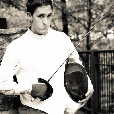 Senior Portraits Fencing Photography