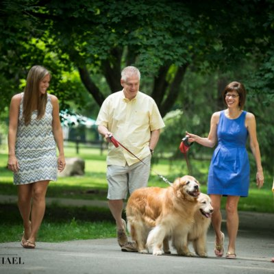 Family with Dogs Photographers Cincinnati