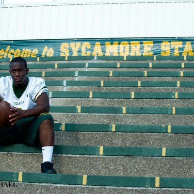 Senior Photography Sycamore Football