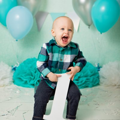 First Birthday Photos, Cincinnati Studio Photographers, Cincinnati Photography, Jessica Rist
