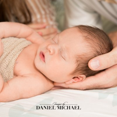 Cincinnati Lifestyle Newborn Photography