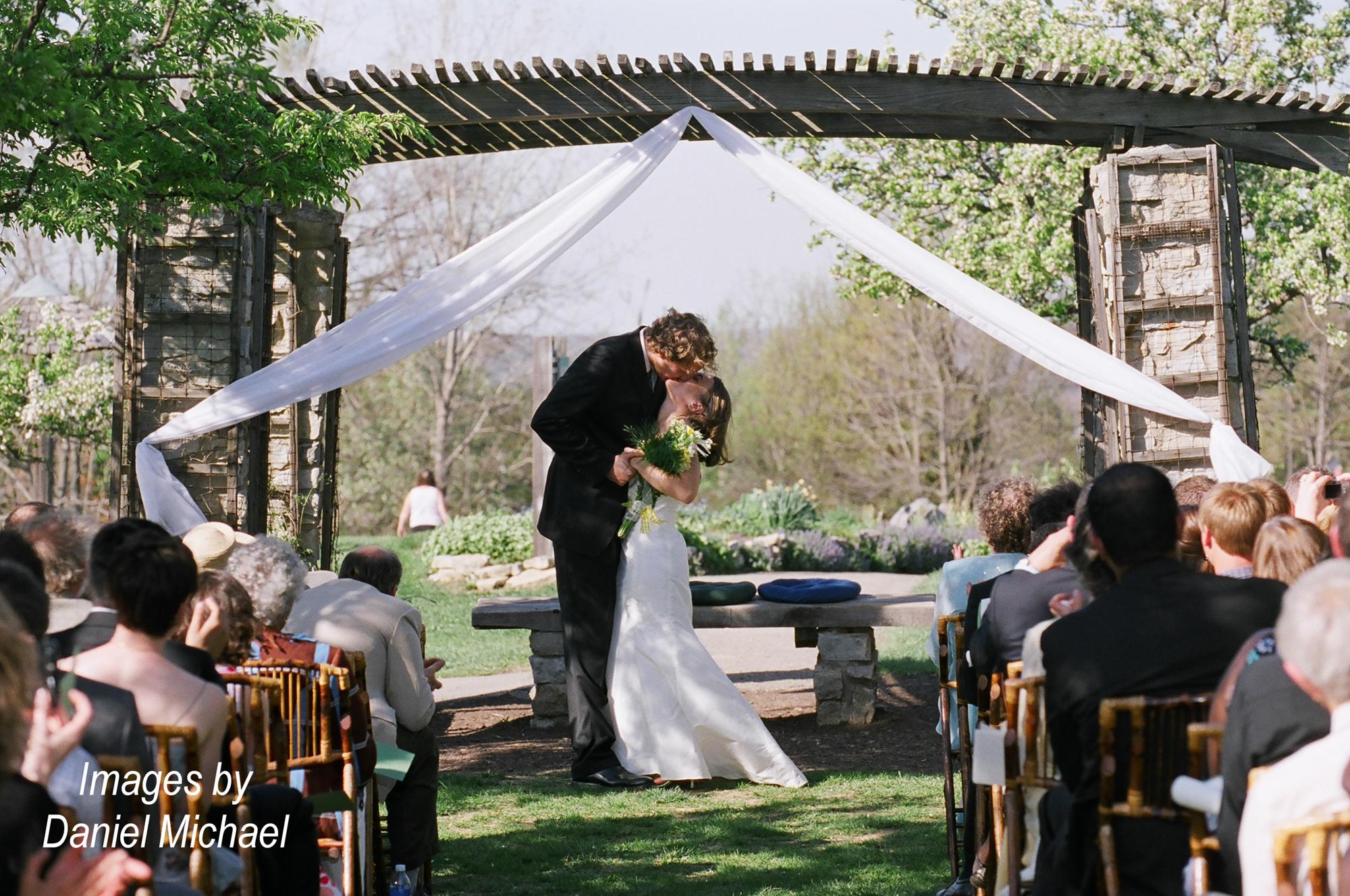 Cox Arboretum Dayton Ceremony Photography
