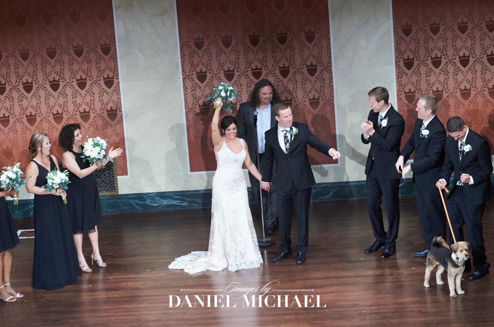 Memorial Hall Venue Wedding Ceremony Reception Photography