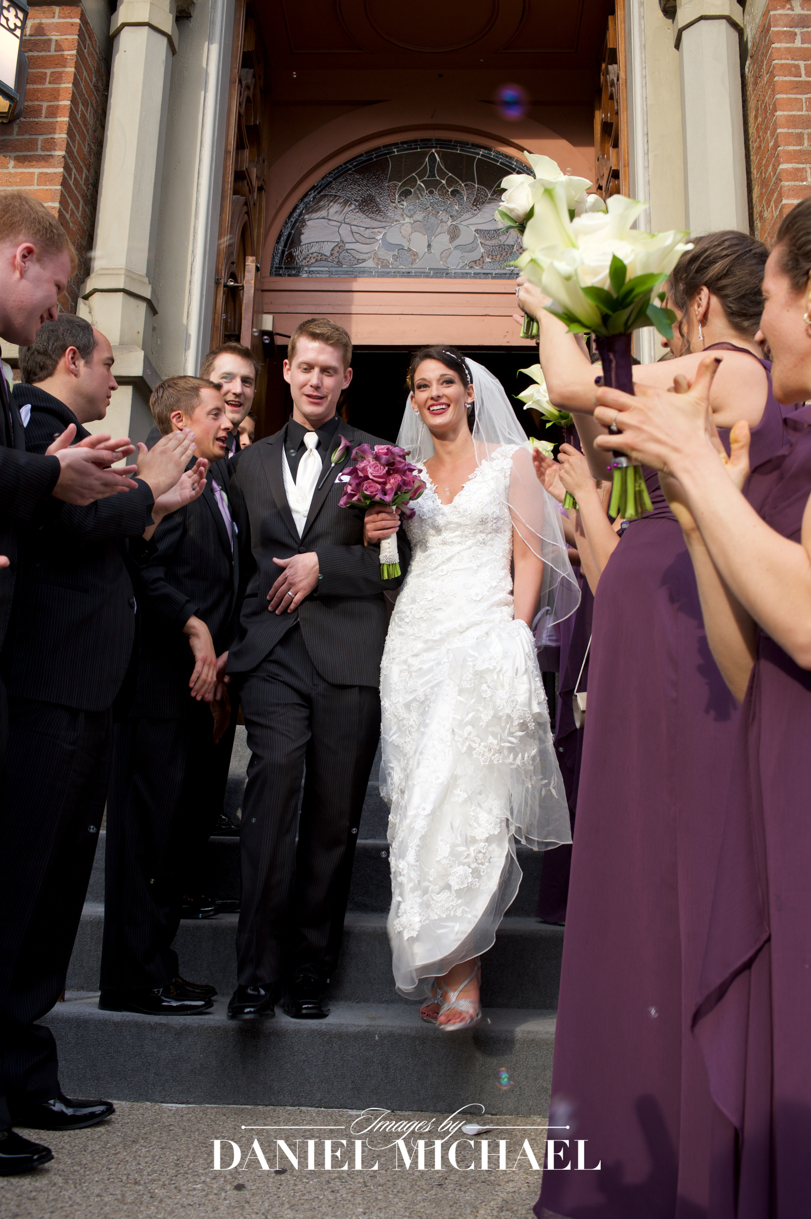 Plum Street Temple Synagogue Wedding Photographer