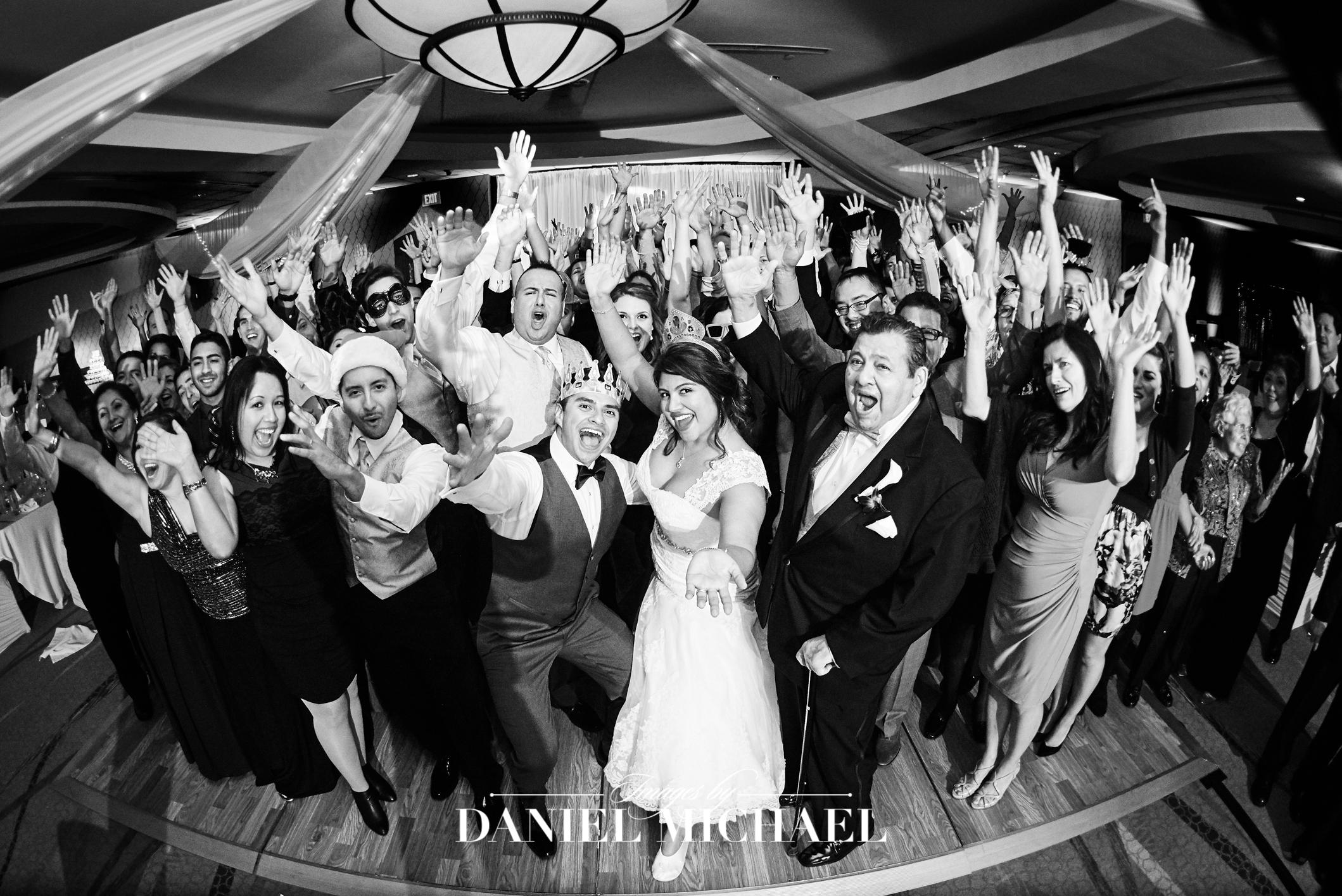 Marriott River Center Venue Wedding Reception Photography