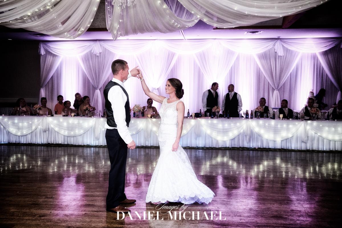 receptions erlanger, wedding venue, first dance