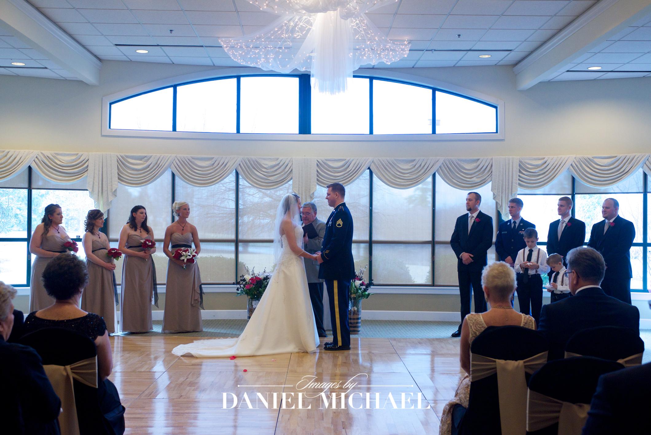 Beavercreek Golf Venue Wedding Reception Ceremony Photographer