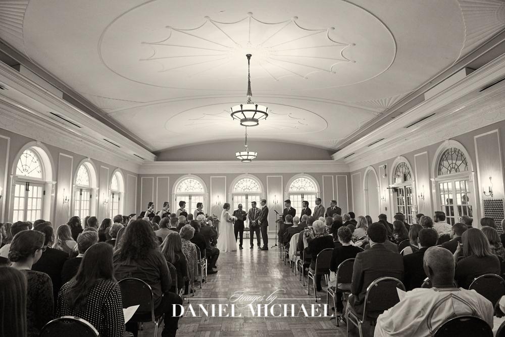 Oxford Community Arts Center Venue Ceremony Wedding Photography