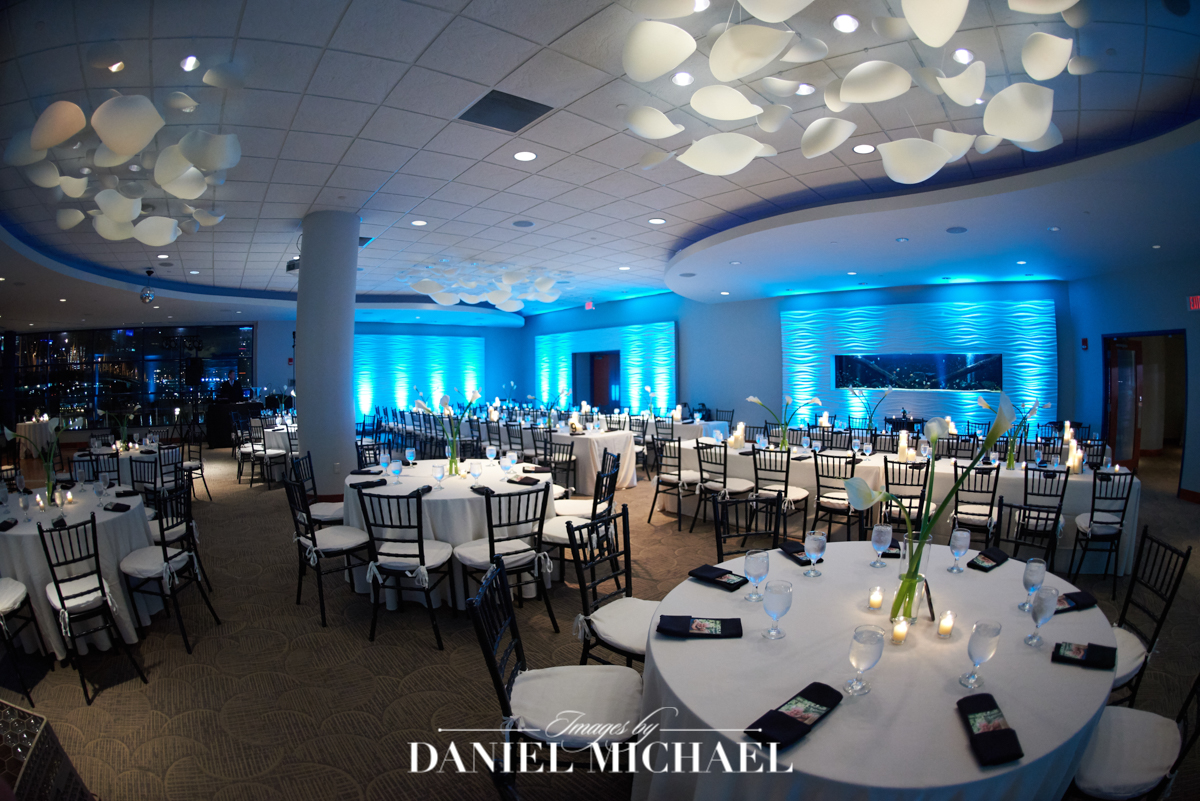 newport aquarium, wedding reception venue
