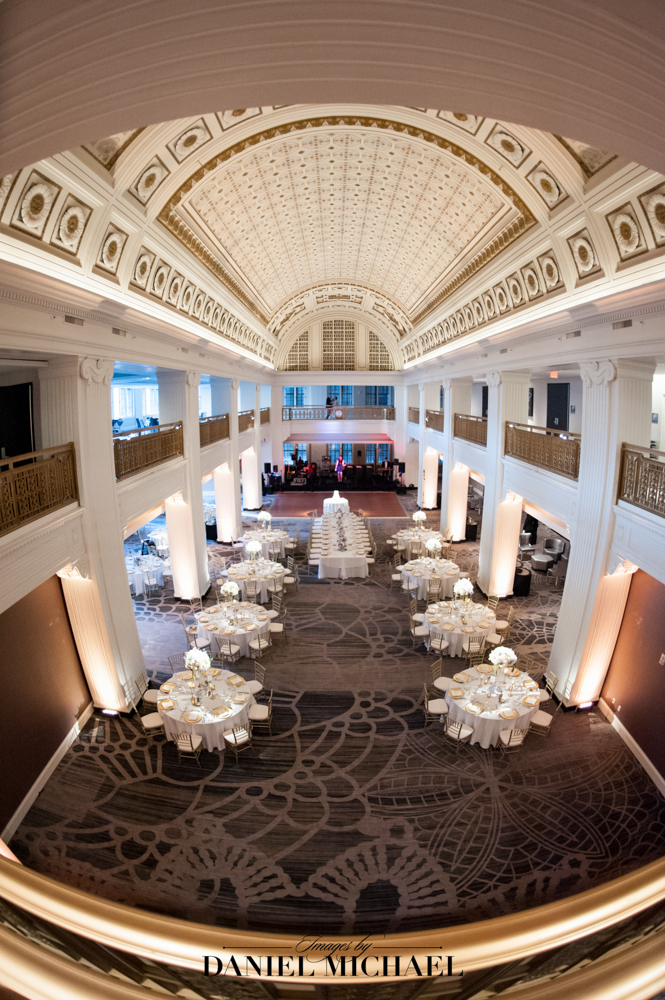 Renaissance hotel wedding downtown Cincinnati