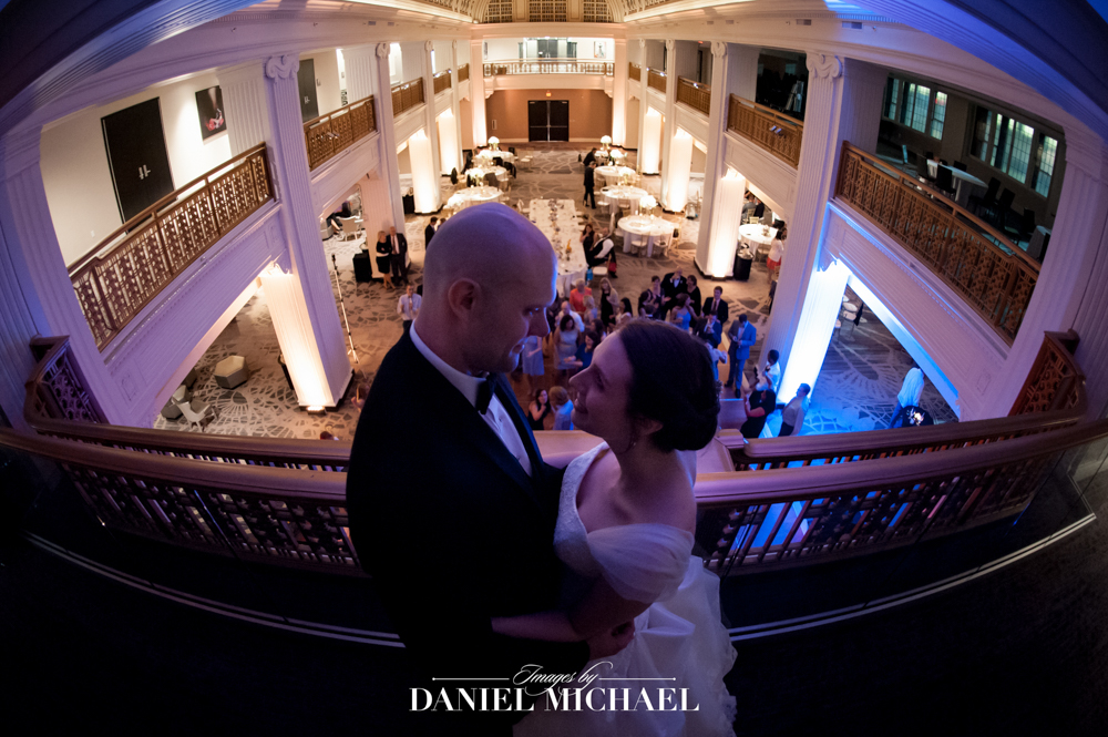 Renaissance hotel wedding