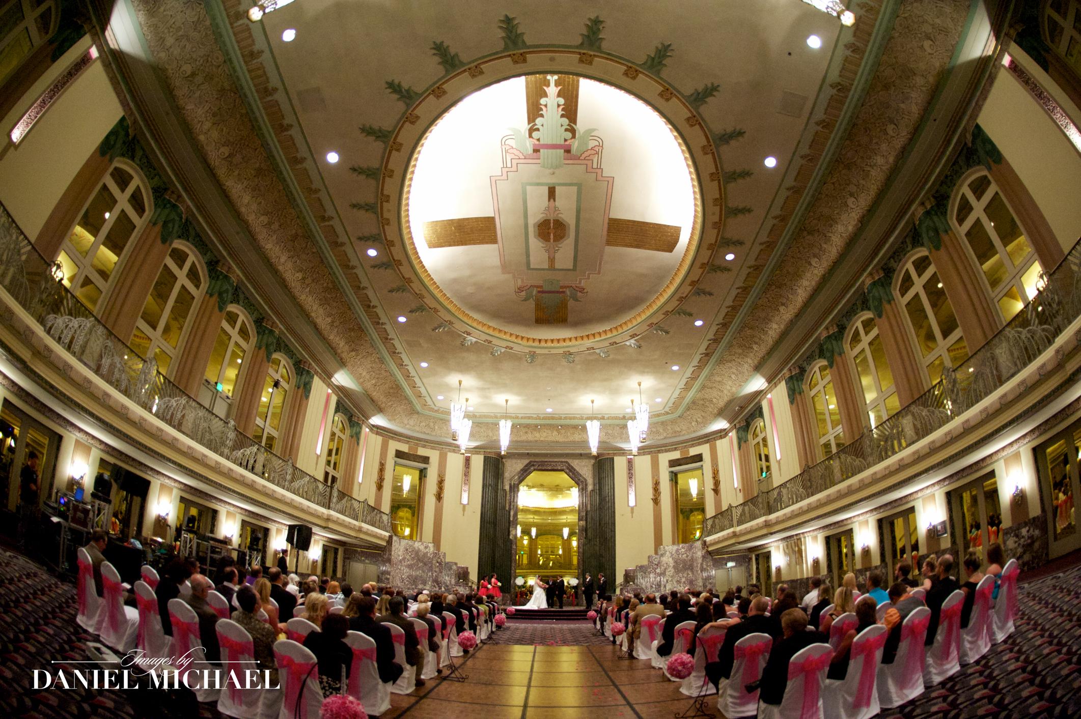 Hall of Mirrors Wedding Venue Ceremony Photography