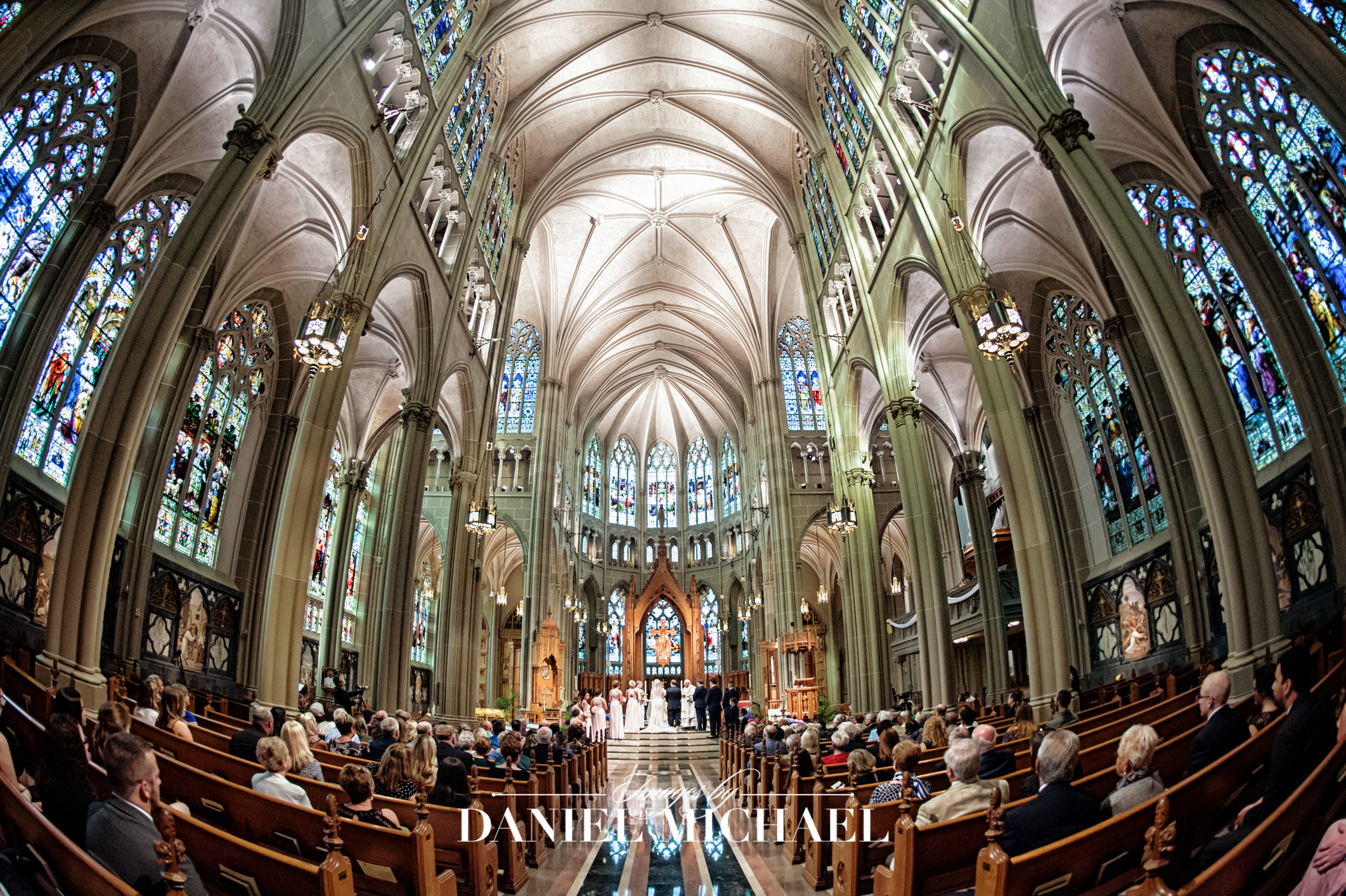 Cathedral Basilica Covington Wedding Ceremony