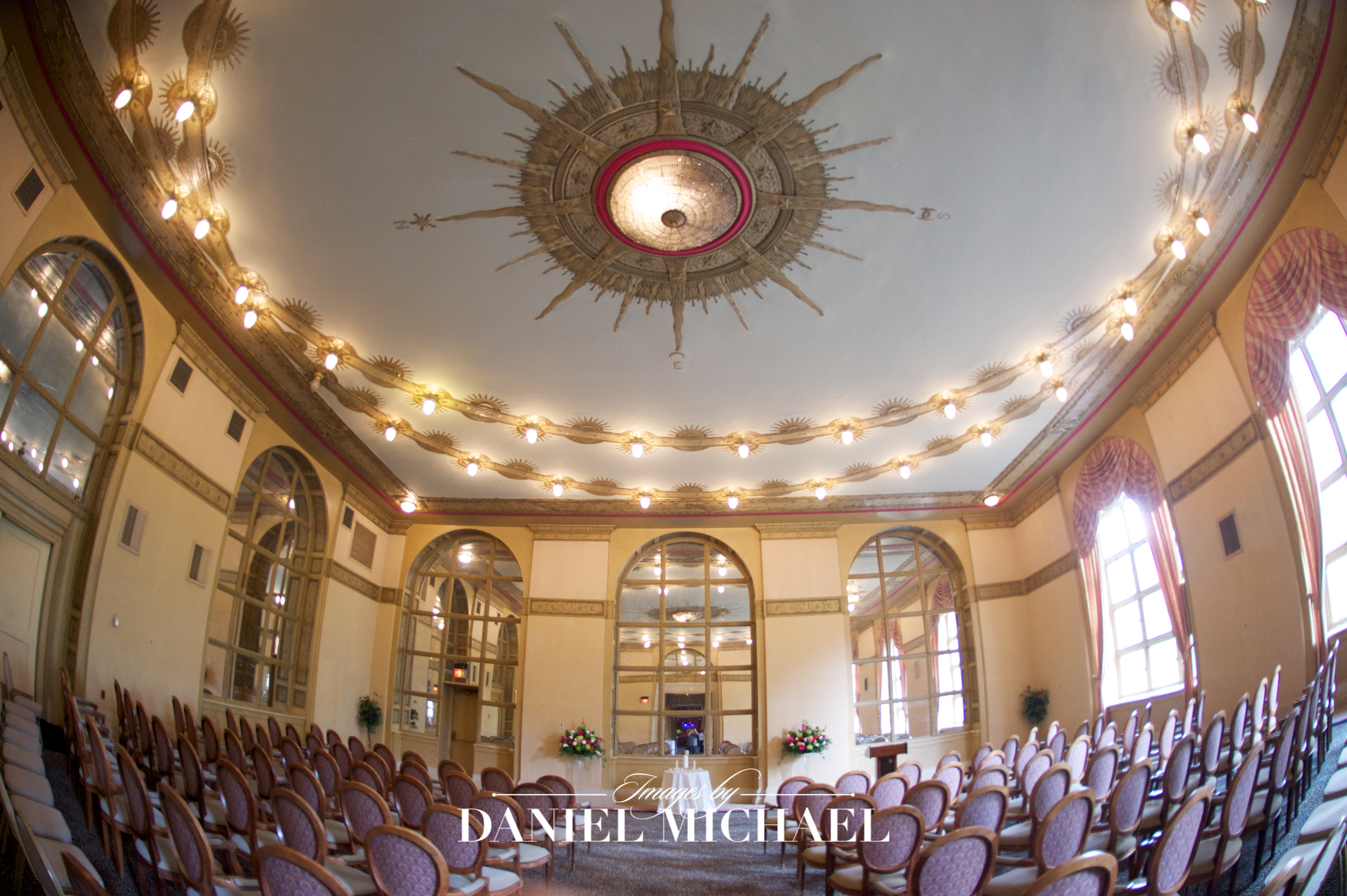 Cincinnati Club Oak Room Wedding
