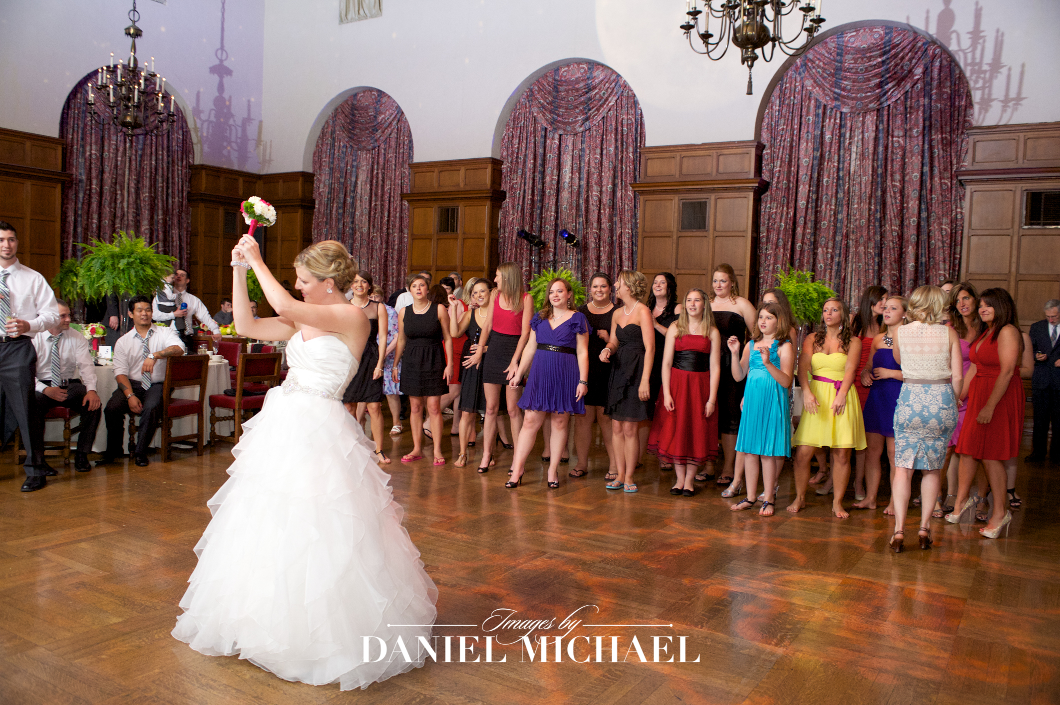 Cincinnati Club Wedding Reception Photography