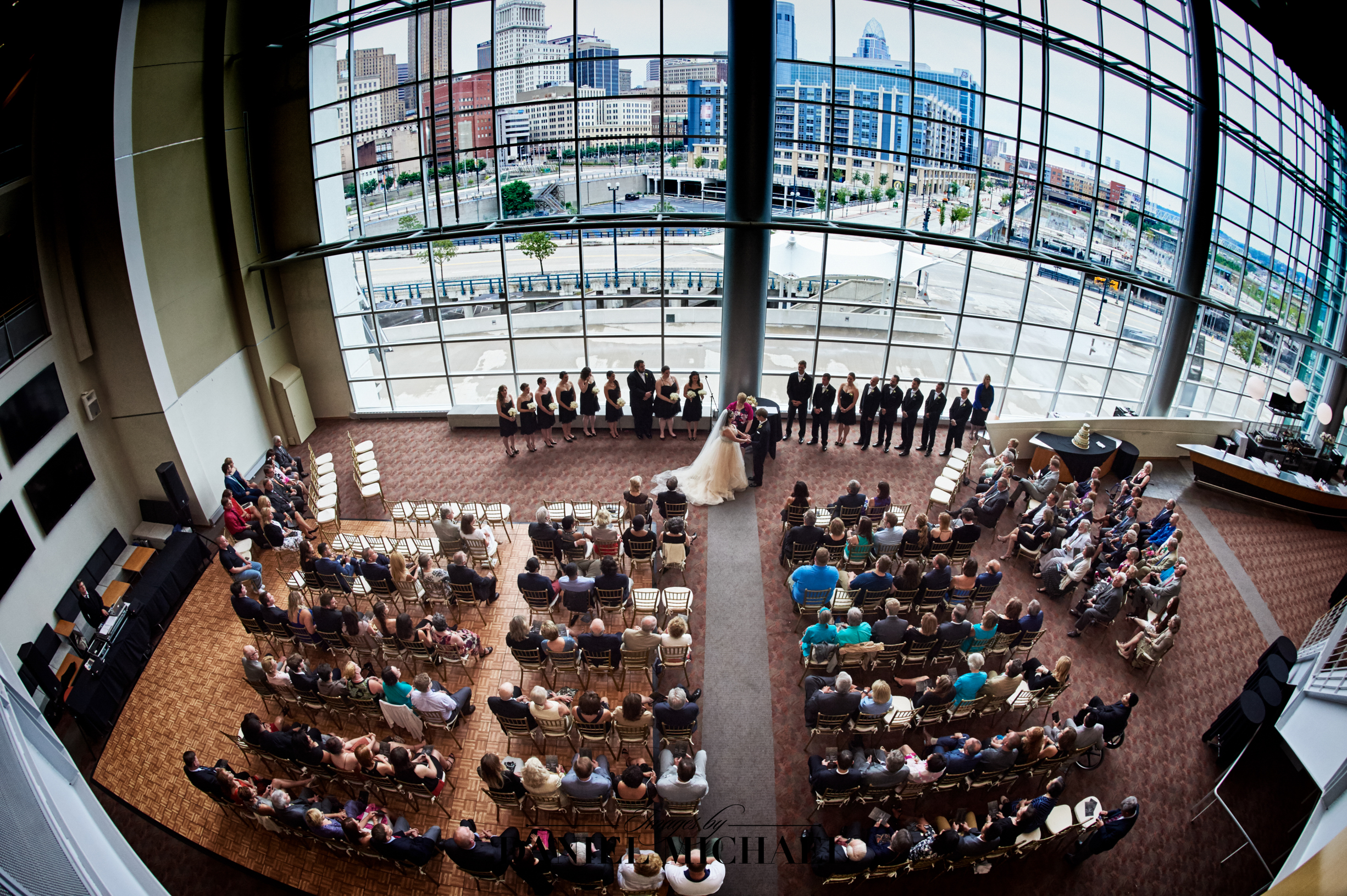 Paul Brown Stadium Wedding Reception Venue Bengals Photography