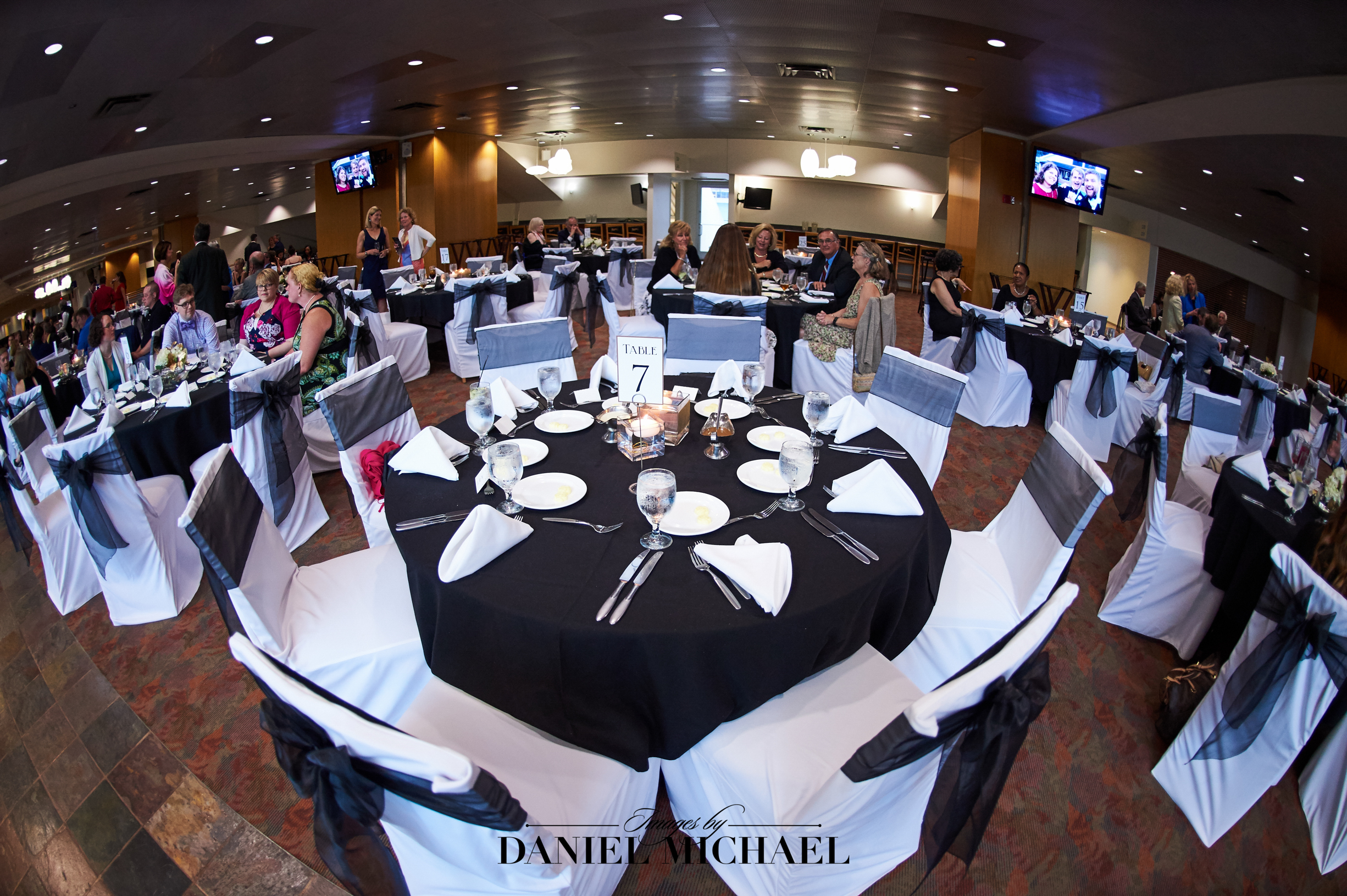 Paul Brown Stadium Reception Venue Wedding Photography