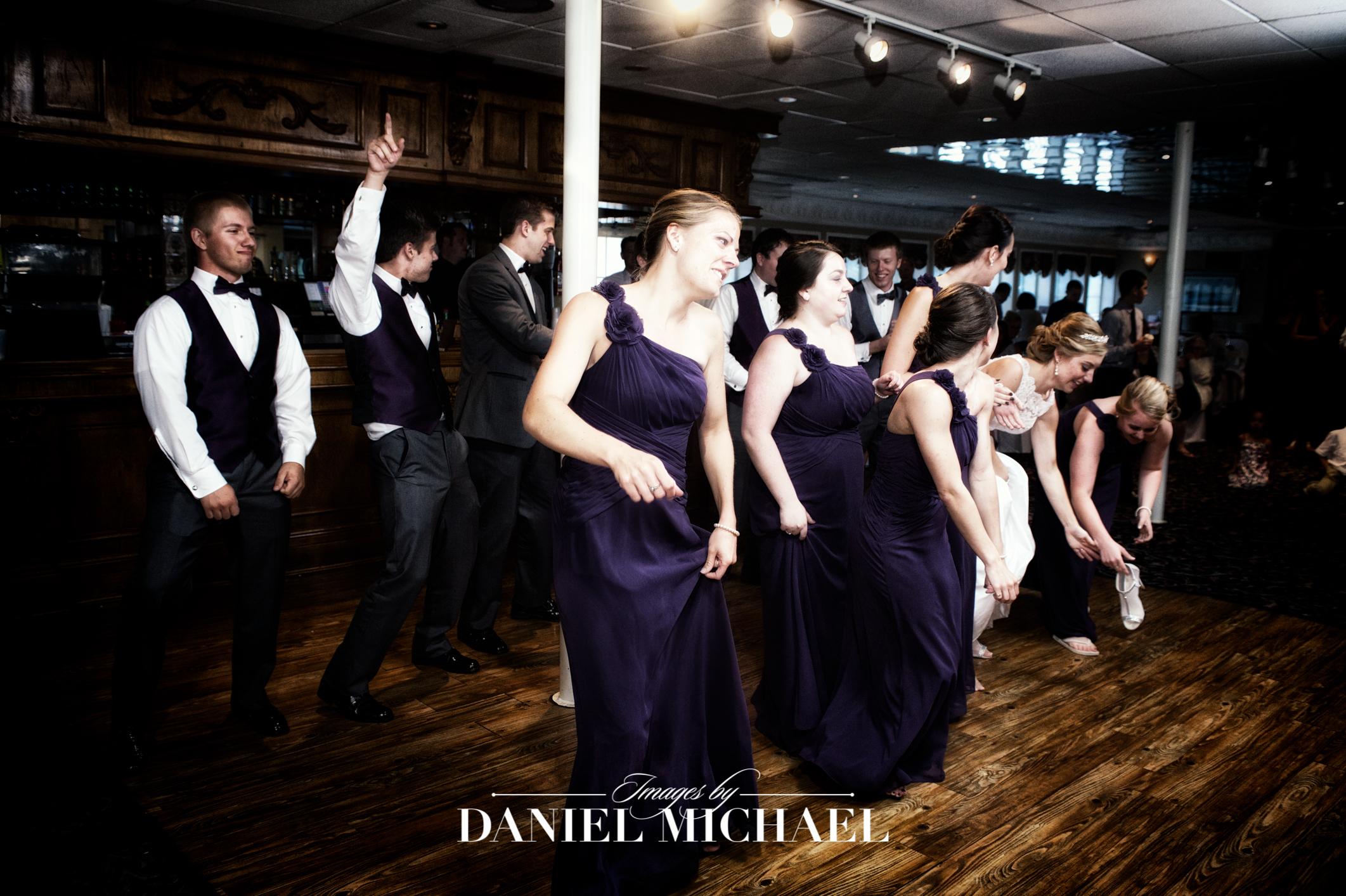 BB Riverboat Venue Reception Photographer
