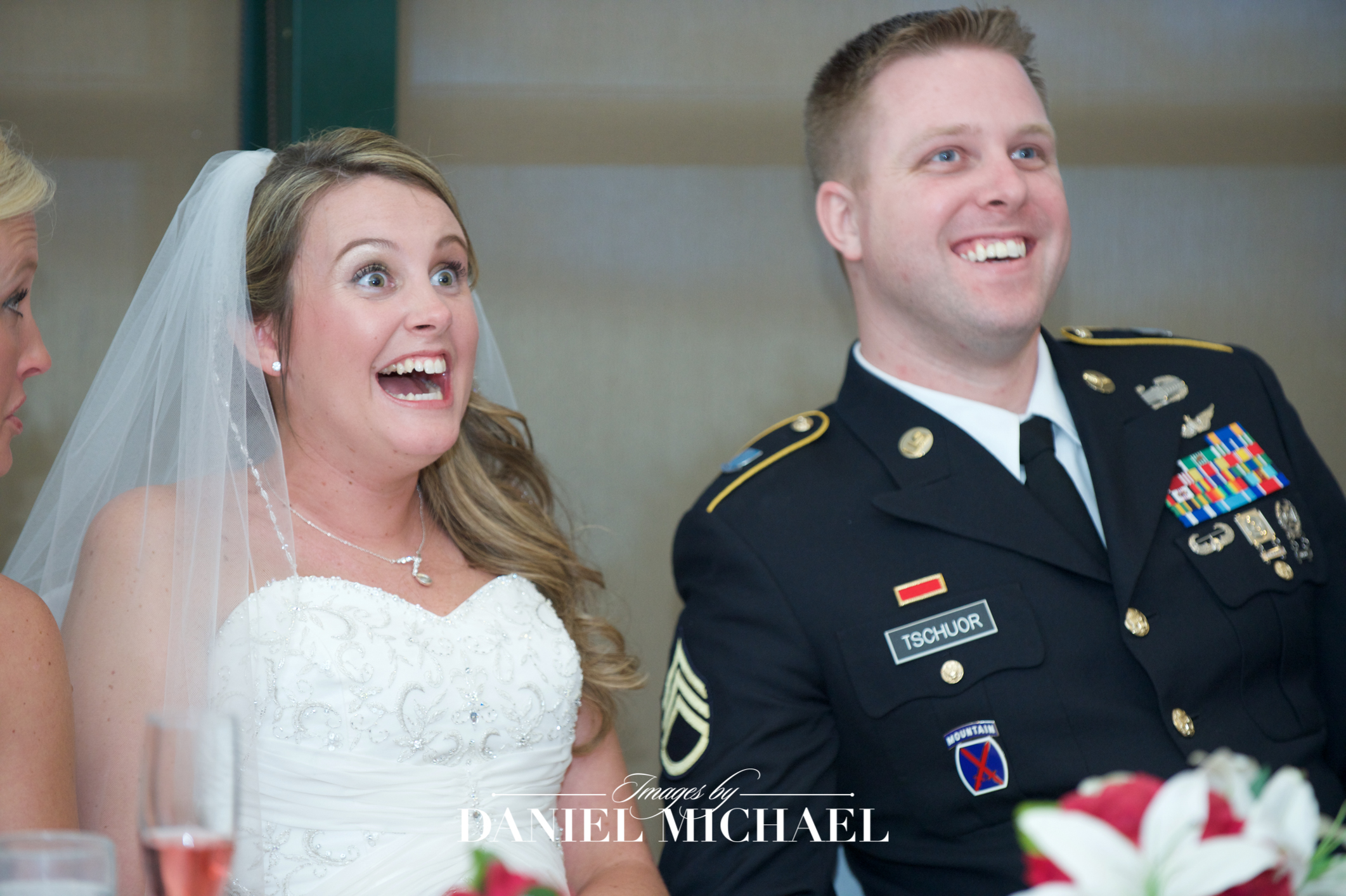 Beavercreek Golf Venue Reception Wedding Photographer