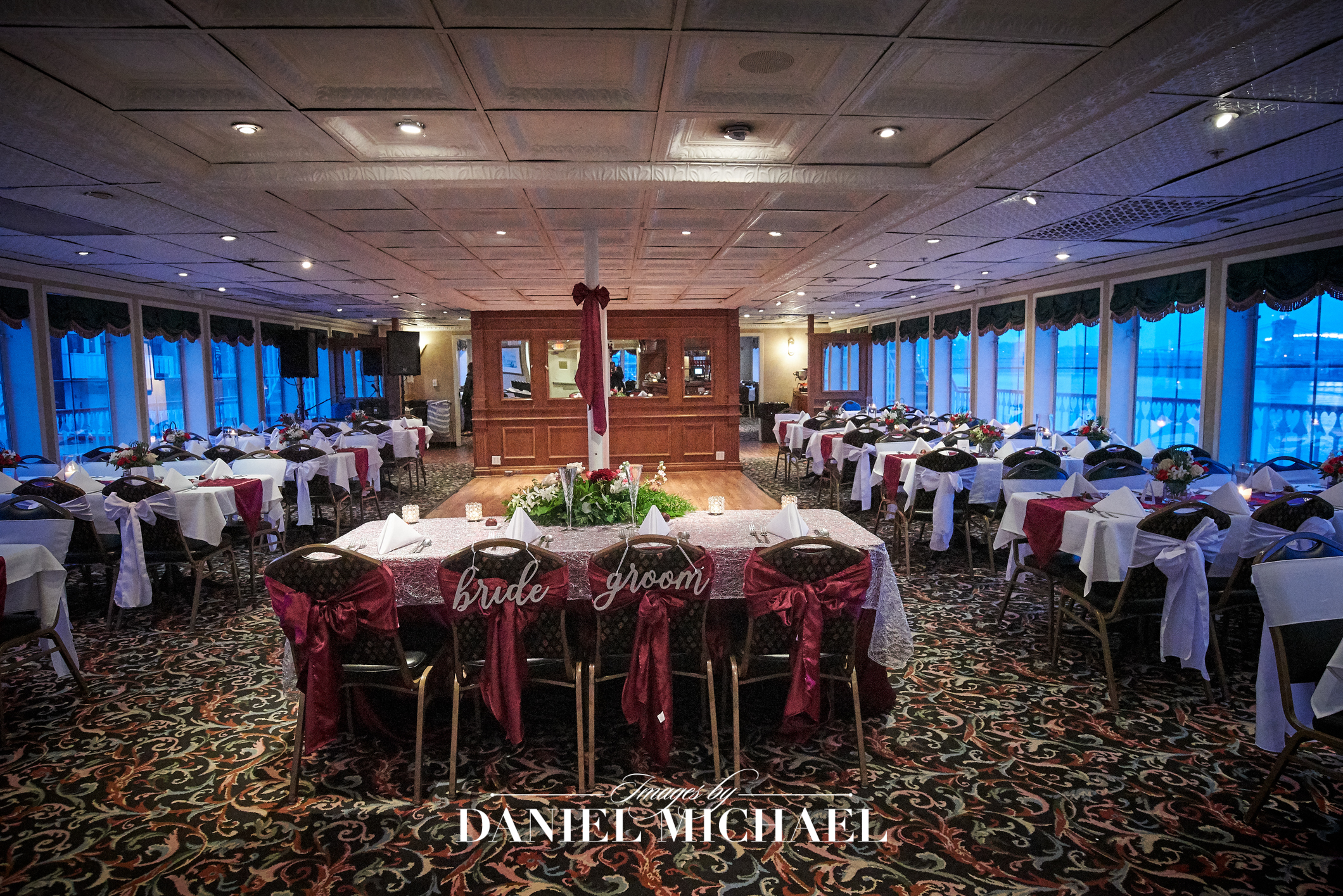 BB Riverboat Reception Venue Photography