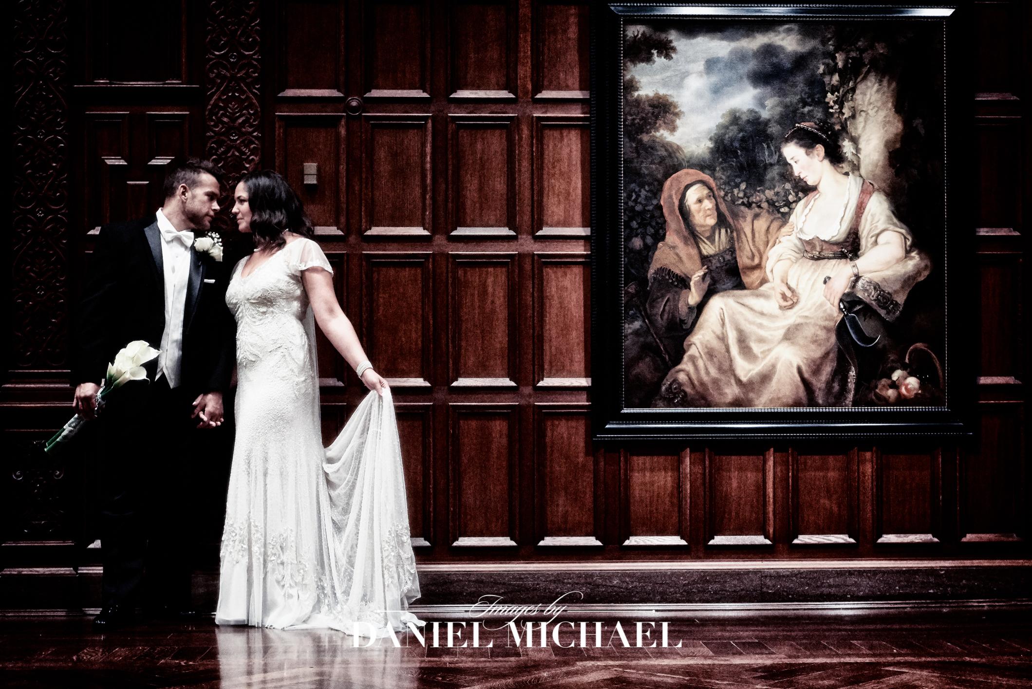 Cincinnati Art Museum Wedding Reception Photography