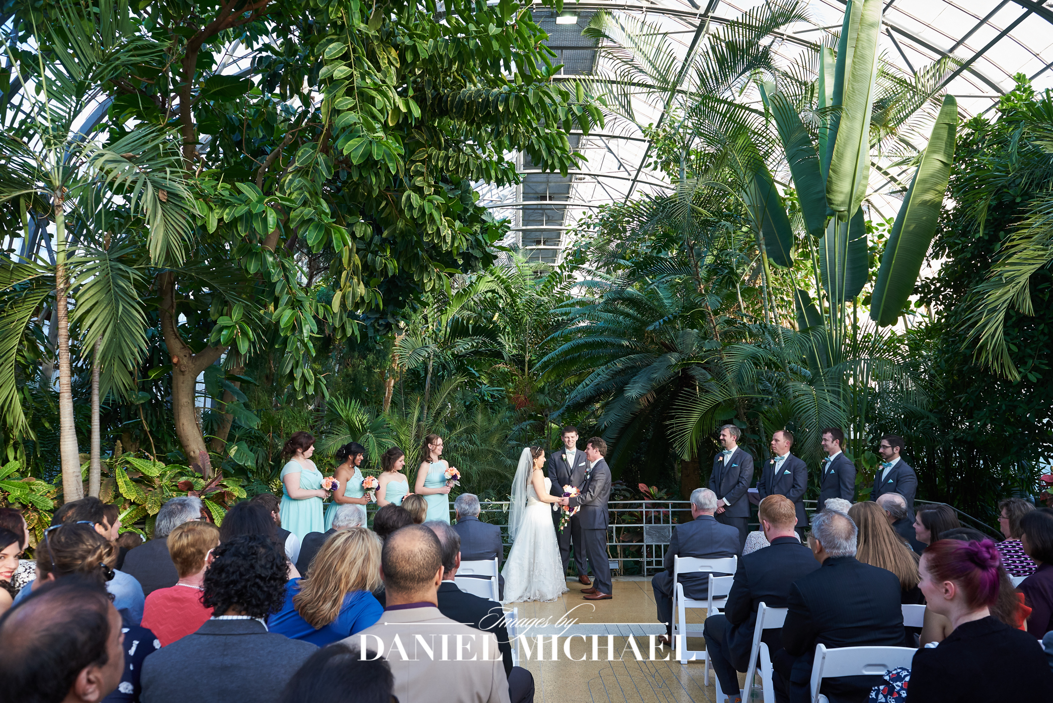 Krohns Conservatory Reception Wedding Venue Photographer