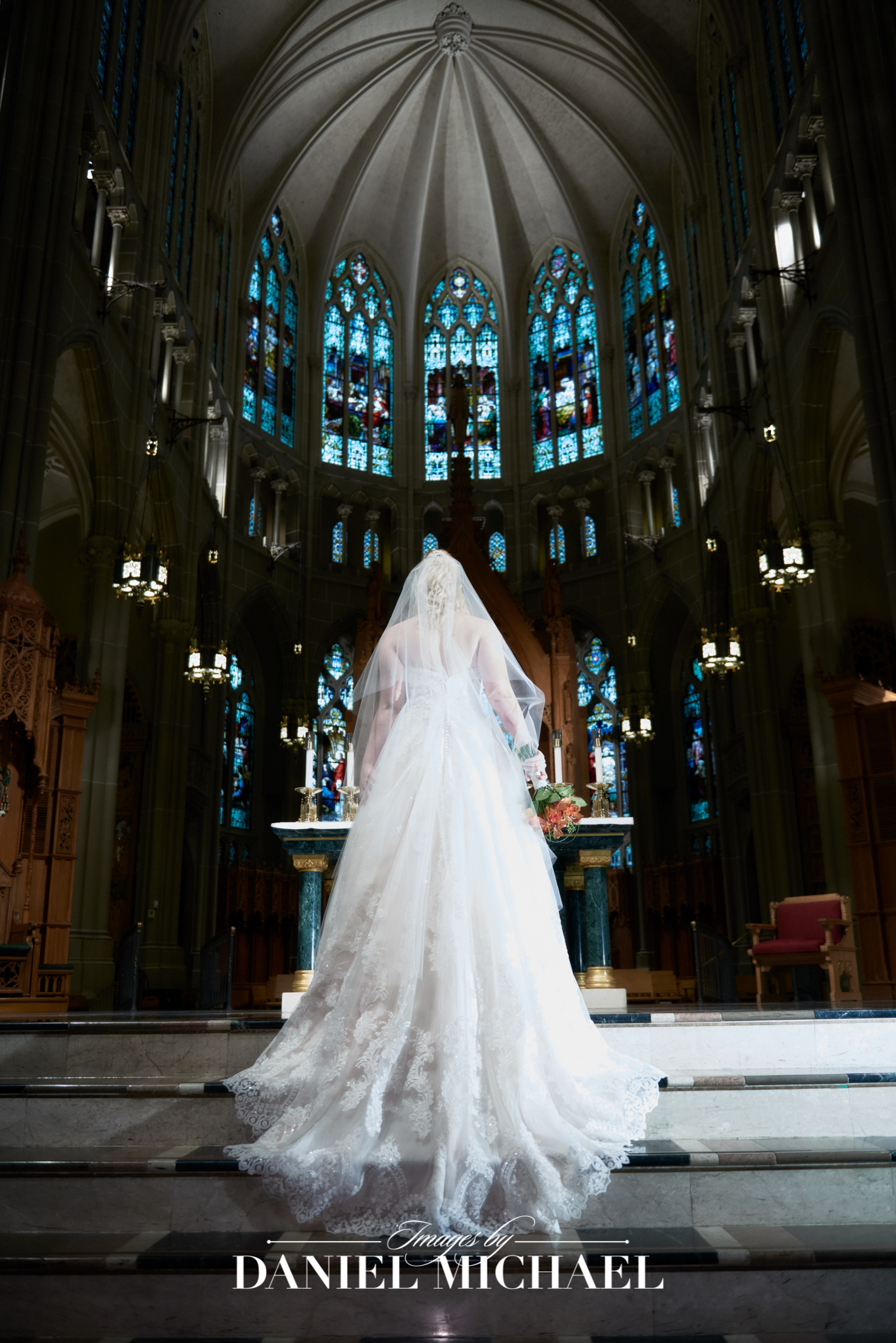 Cathedral Basilica Covington Wedding Ceremony Photographer