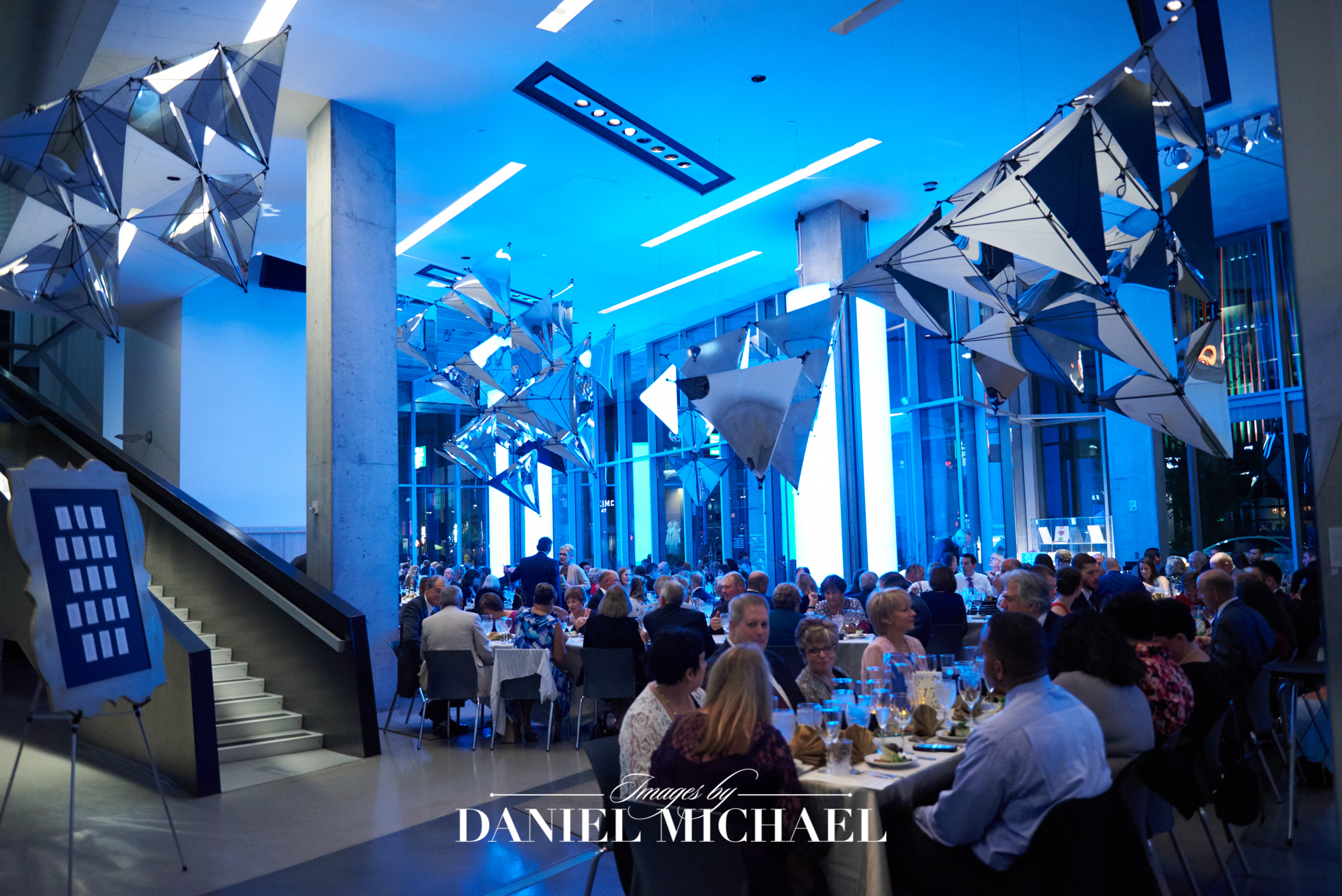 Contemporary Arts Center Wedding Reception Venue Photography