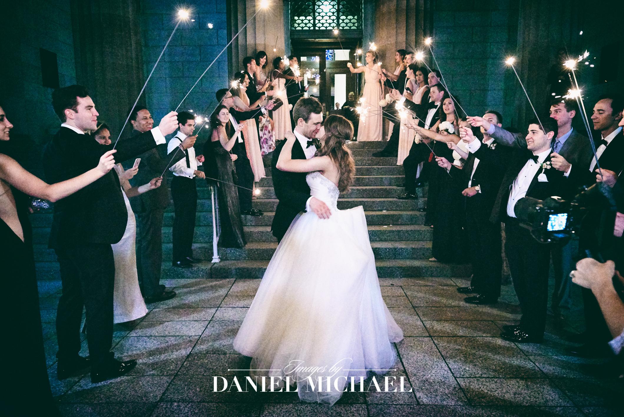 Cincinnati Art Museum Wedding Reception Photographer