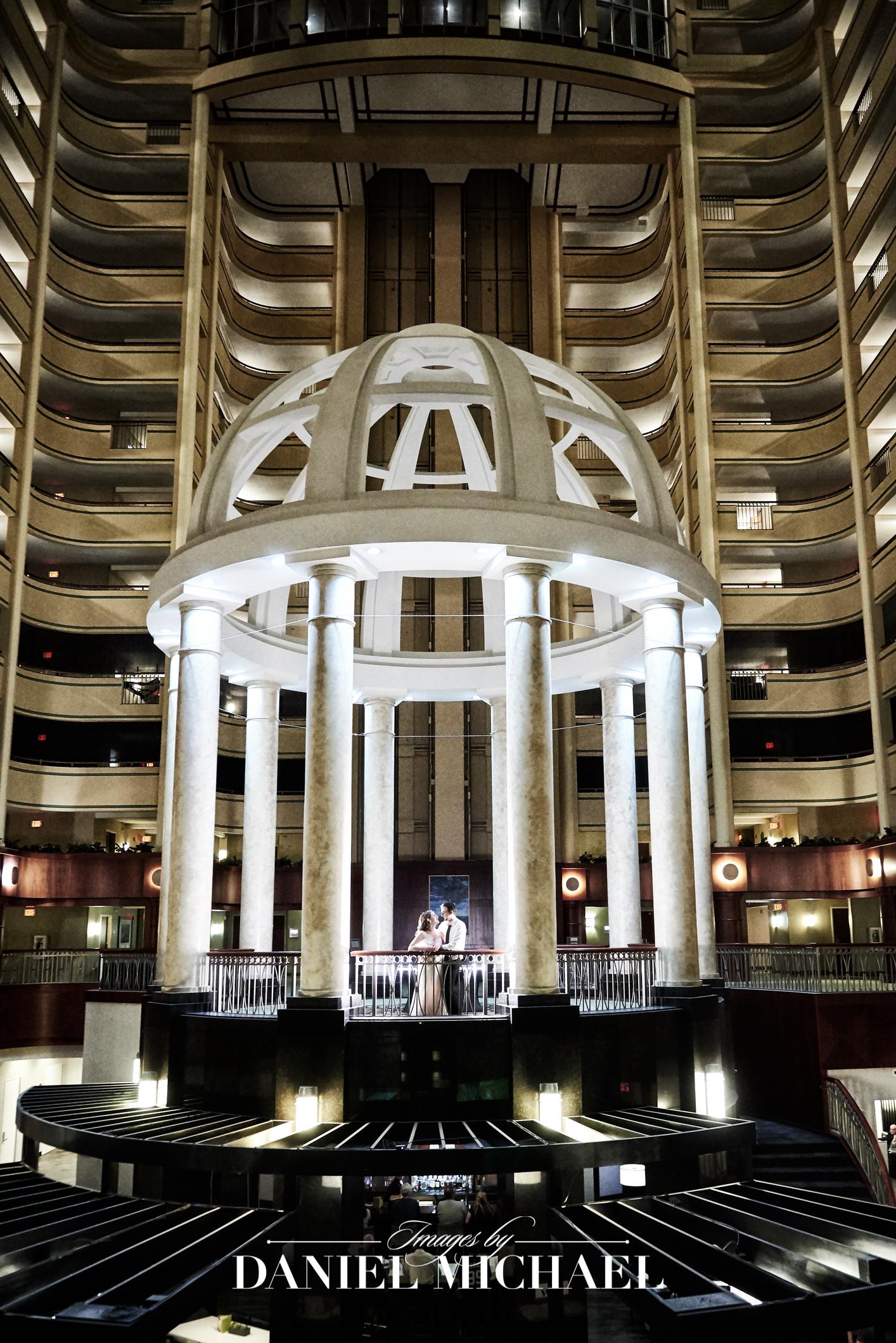 Marriott River Center Covington Venue Wedding Photography