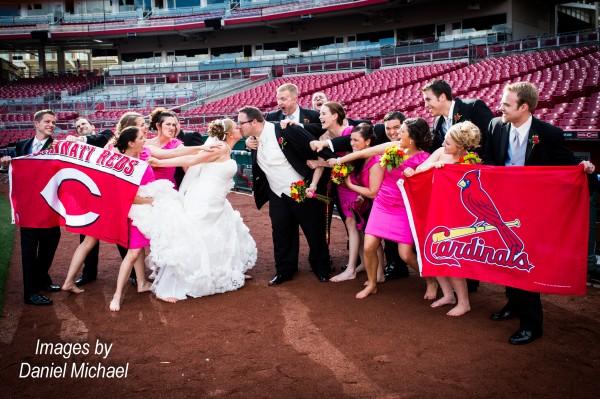 Great American Ballpark Wedding Photography