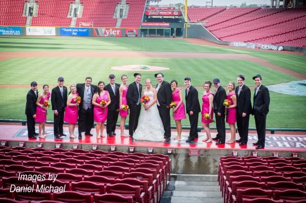 Great American Ballpark Wedding Photos