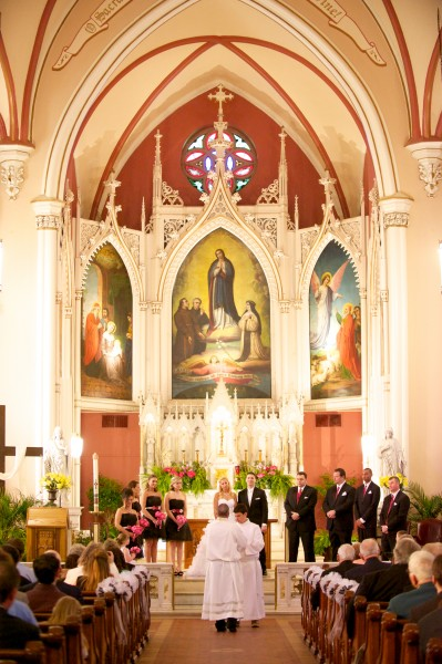 Holy Cross Immaculata Wedding Photography