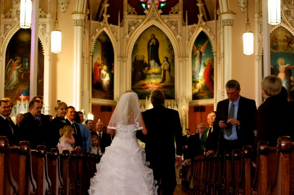 Holy Cross Immaculata Wedding Sacrament