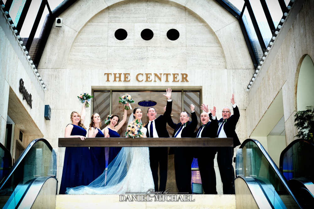 The Center  Venue Wedding Photographer Downtown