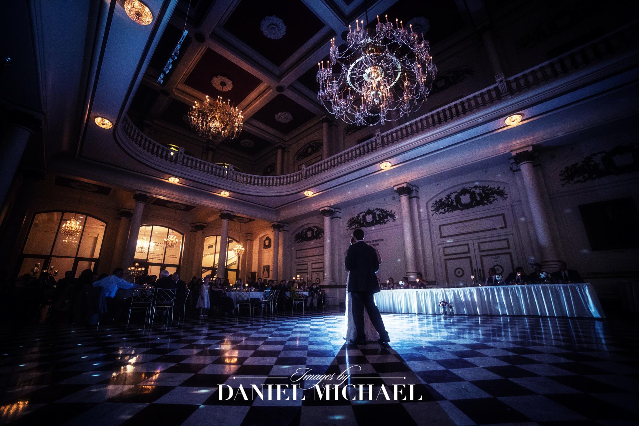 Music Hall Wedding Venue Photography