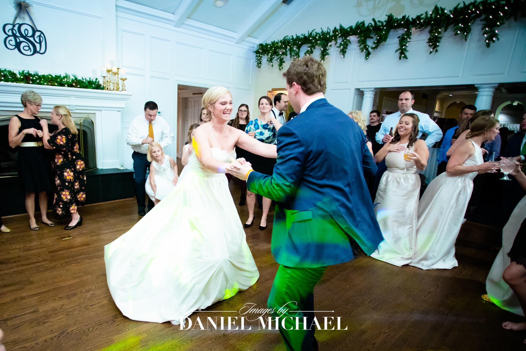 Hyde Park Country Club Venue Wedding Photographer