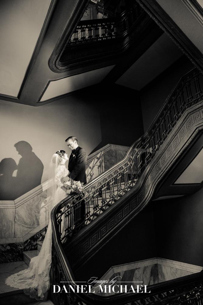 Memorial Hall Venue Wedding Reception Photography