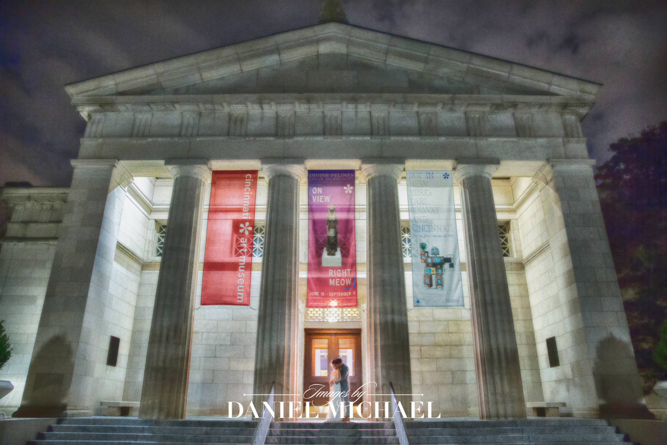 Cincinnati Art Museum Wedding Photographers