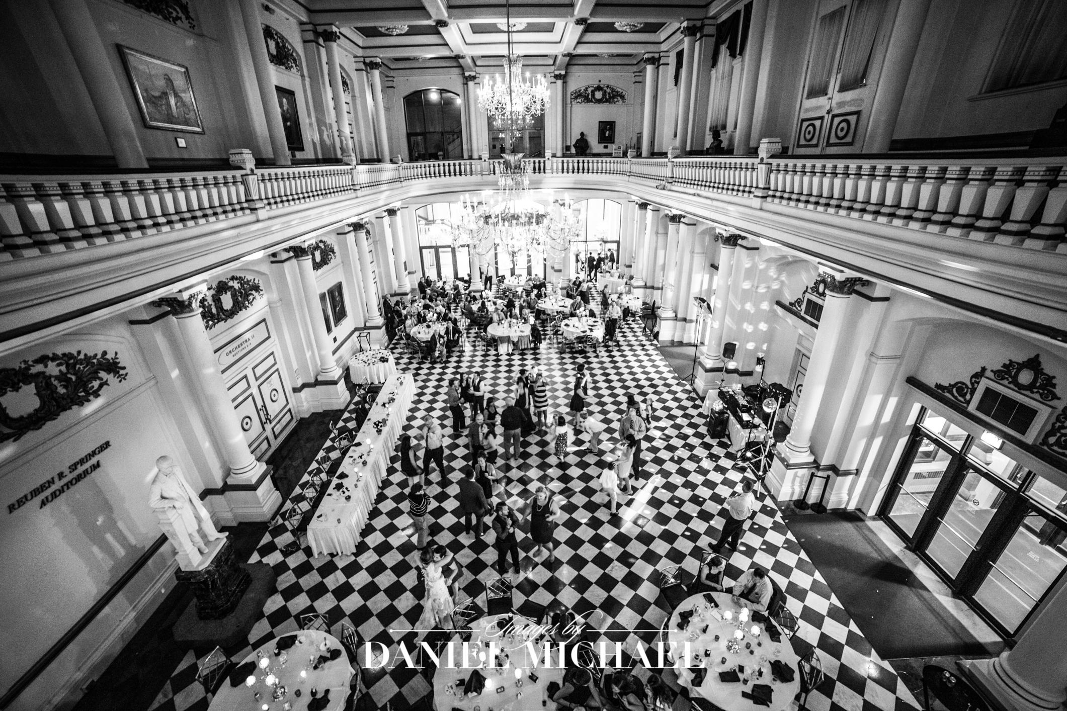 Music Hall Venue Reception Photography Wedding
