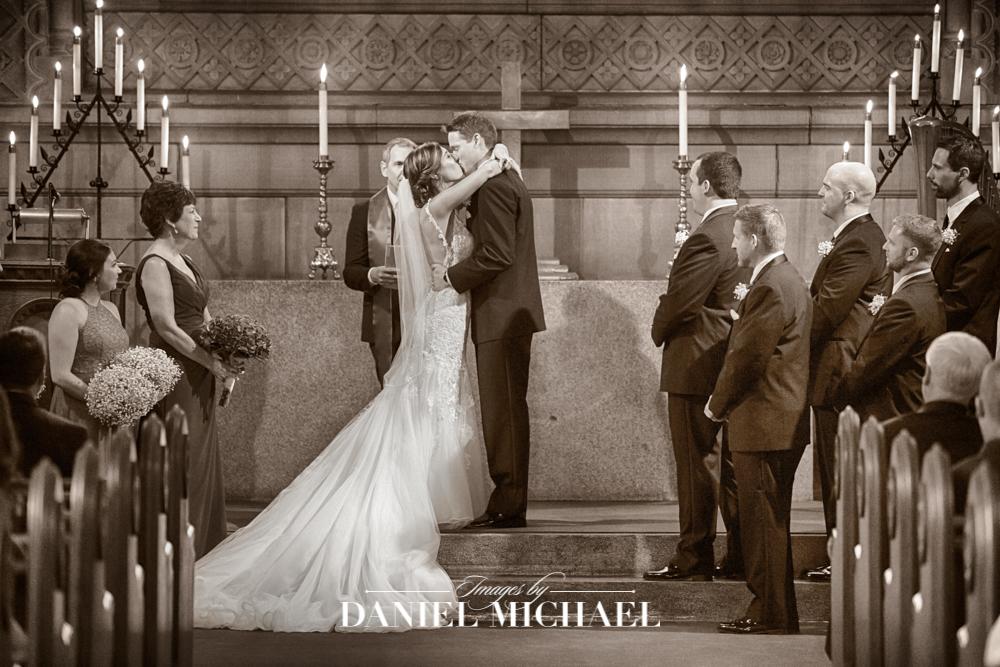 Norman Chapel Venue Wedding Ceremony Vintage Photography