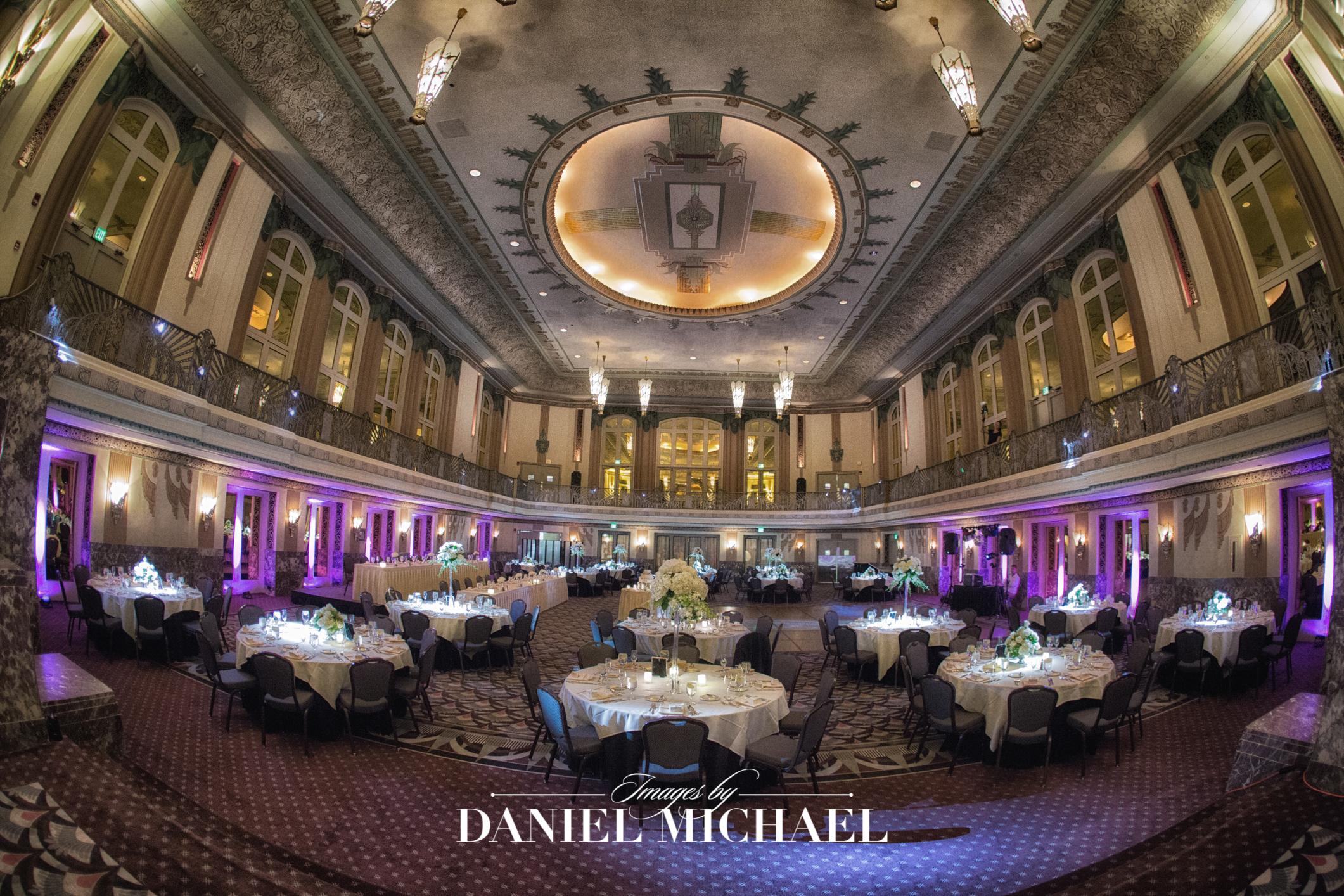 Hall of Mirrors Wedding Venue Reception Photography