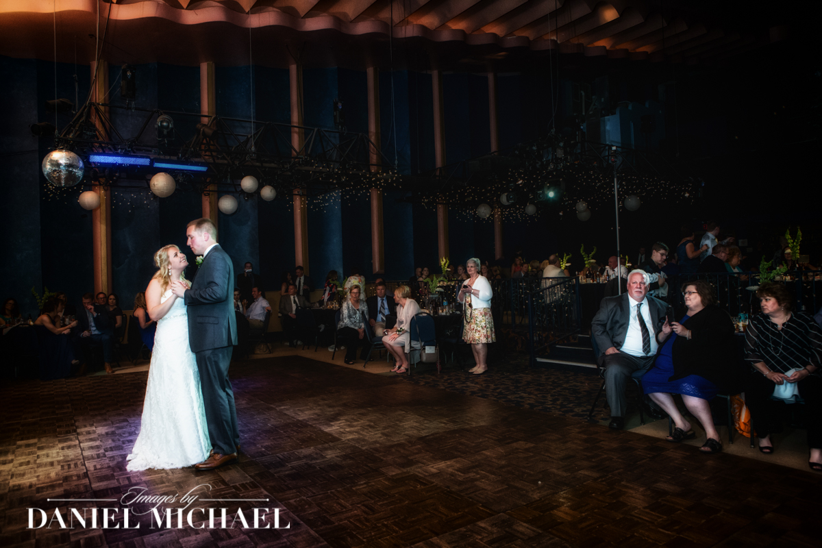 20th Century Theater Wedding Photographer Dance floor