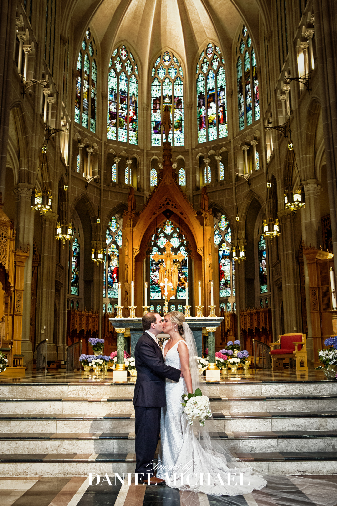 Cathedral Basilica Covington Wedding venue Photographer