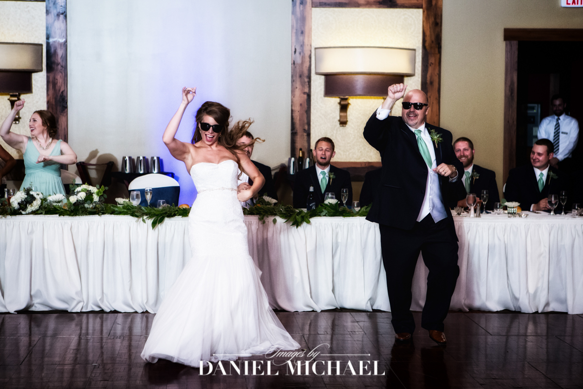 wedding reception, father daugther dance, oscar event