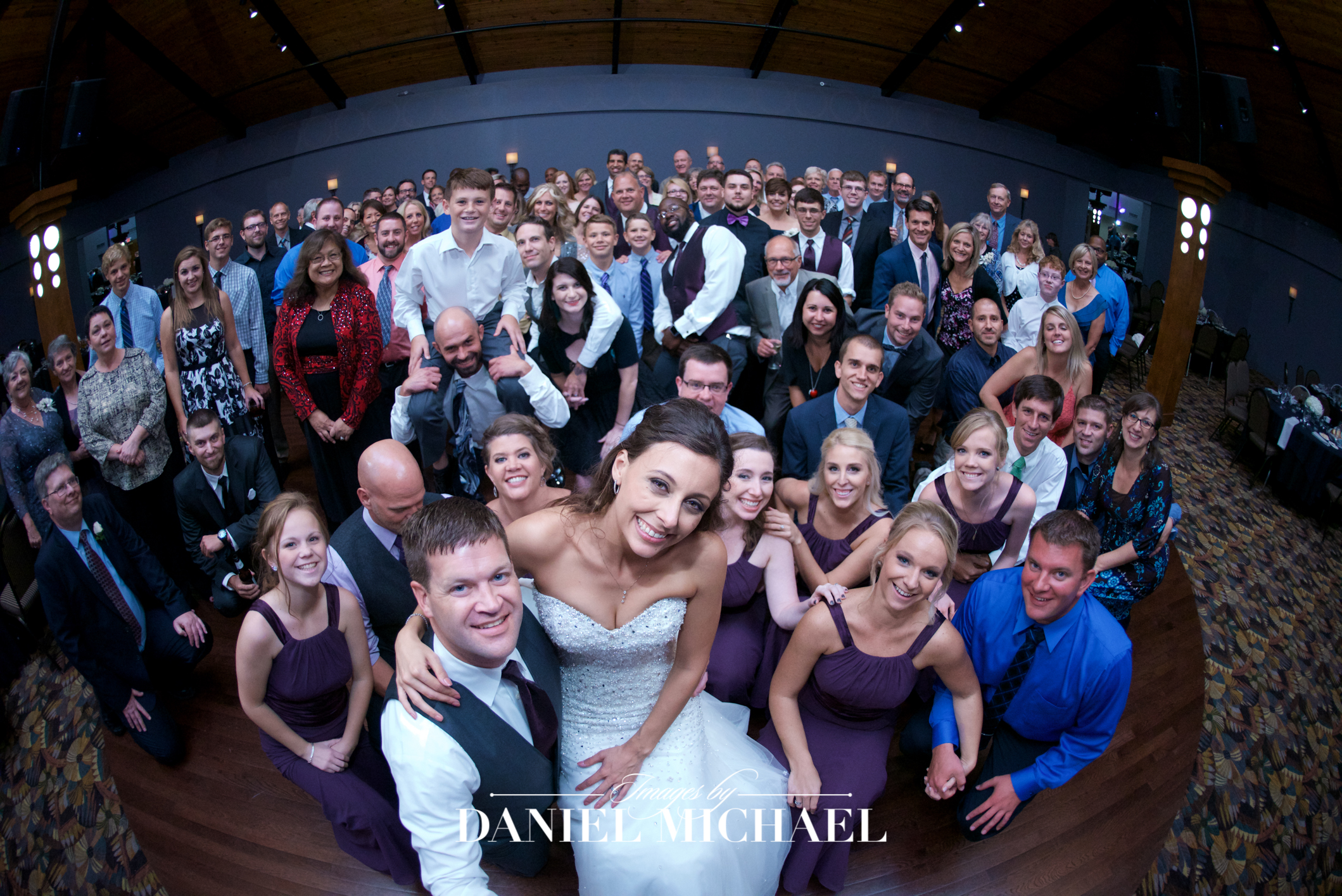 Pinnacle Ballroom Reception Wedding Venue Photographer
