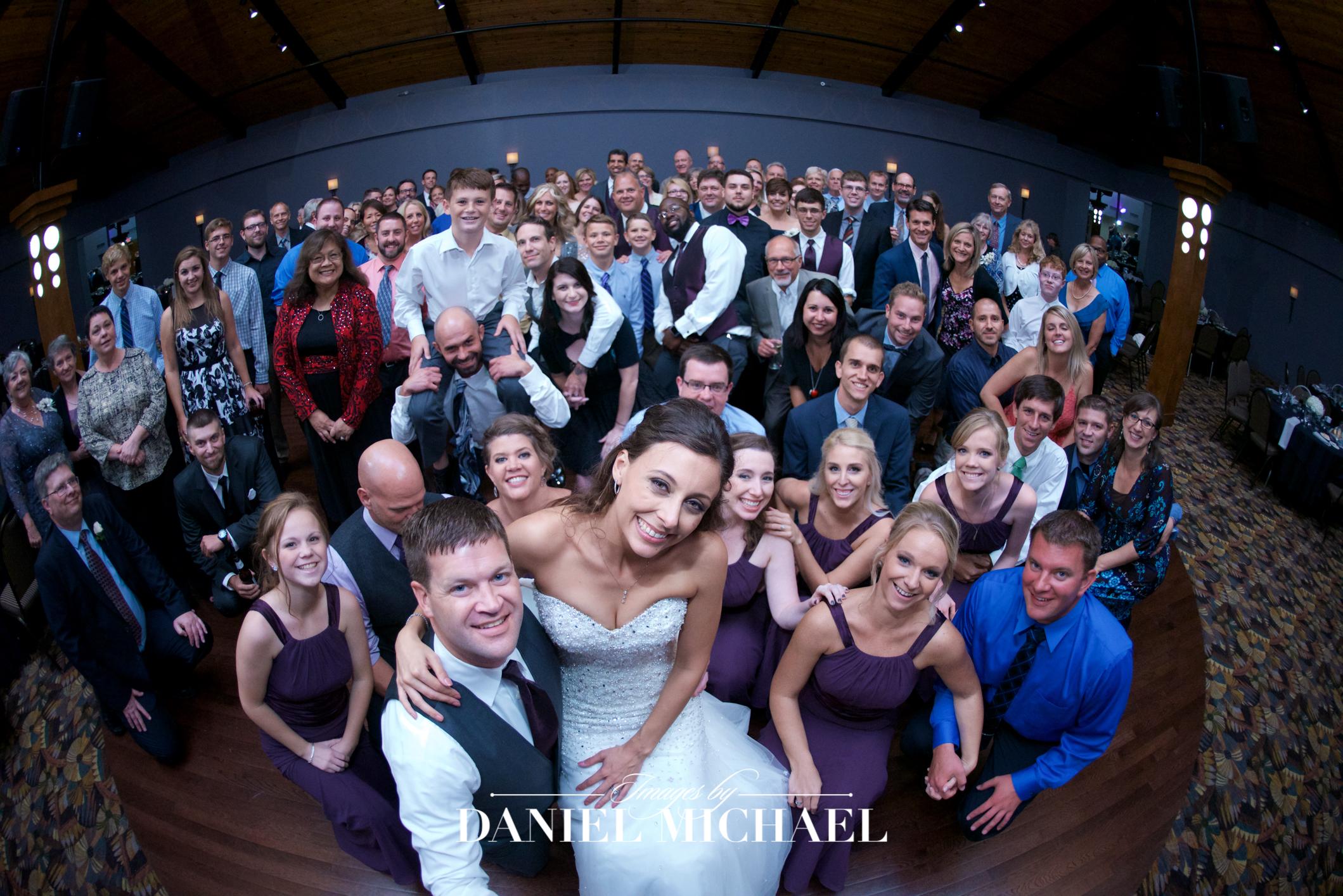 Pinnacle Ballroom Reception Wedding Venue Photographer