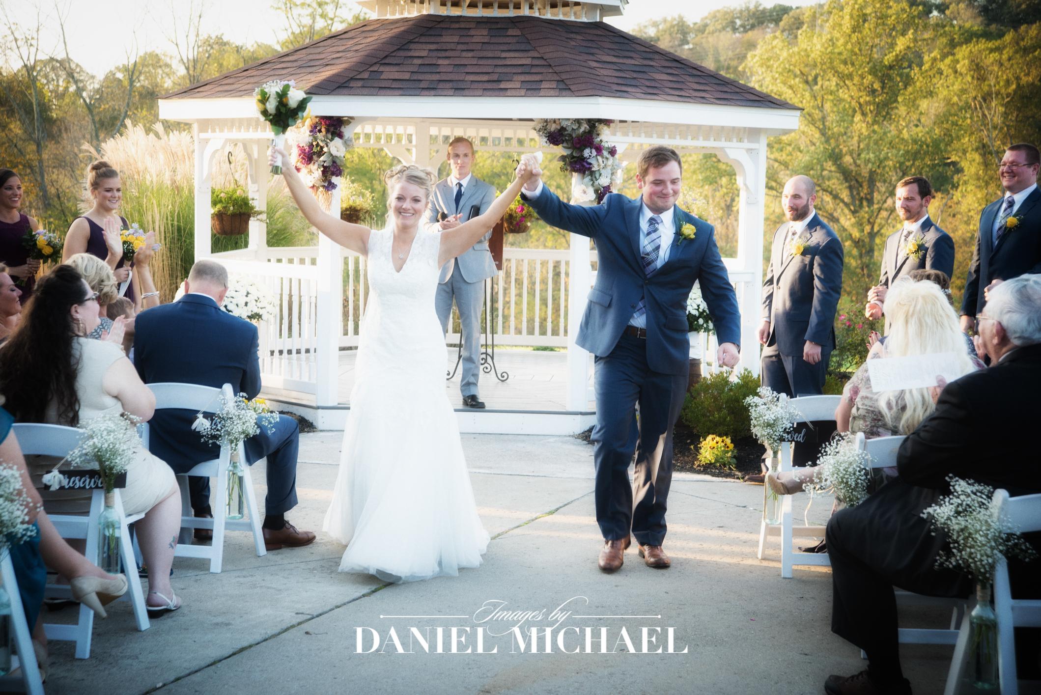 Aston Oaks Reception Venue Wedding Ceremony Photography