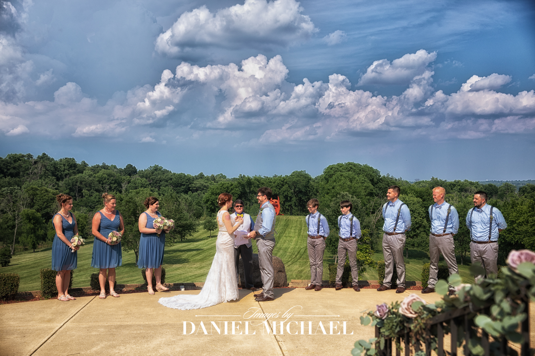 Pyramid Hill Sculpture Wedding Venue Ceremony Photography